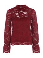 Jane Norman Bell Sleeve Lace Top