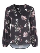 Jane Norman Floral Printed Blouse