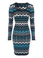 Jane Norman Chevron Jumper Dress
