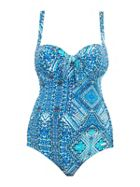 SUNSEEKER Plus cup underwired swimsuit