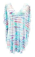SUNSEEKER Pastel Beach Kaftan Cover Up