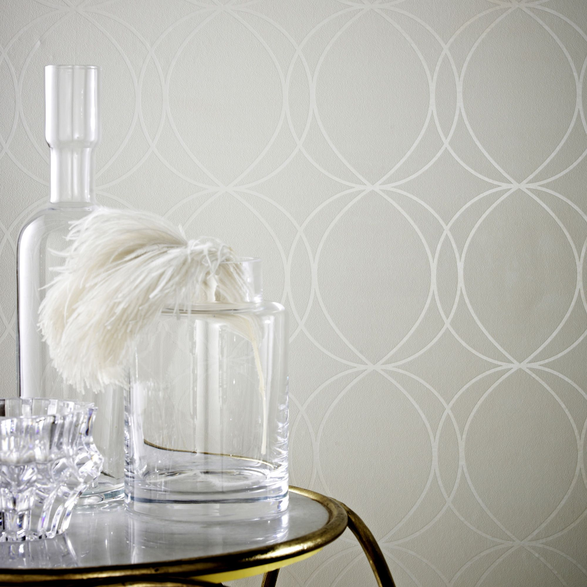 graham  brown white  mica savoy wallpaper  house of fraser -