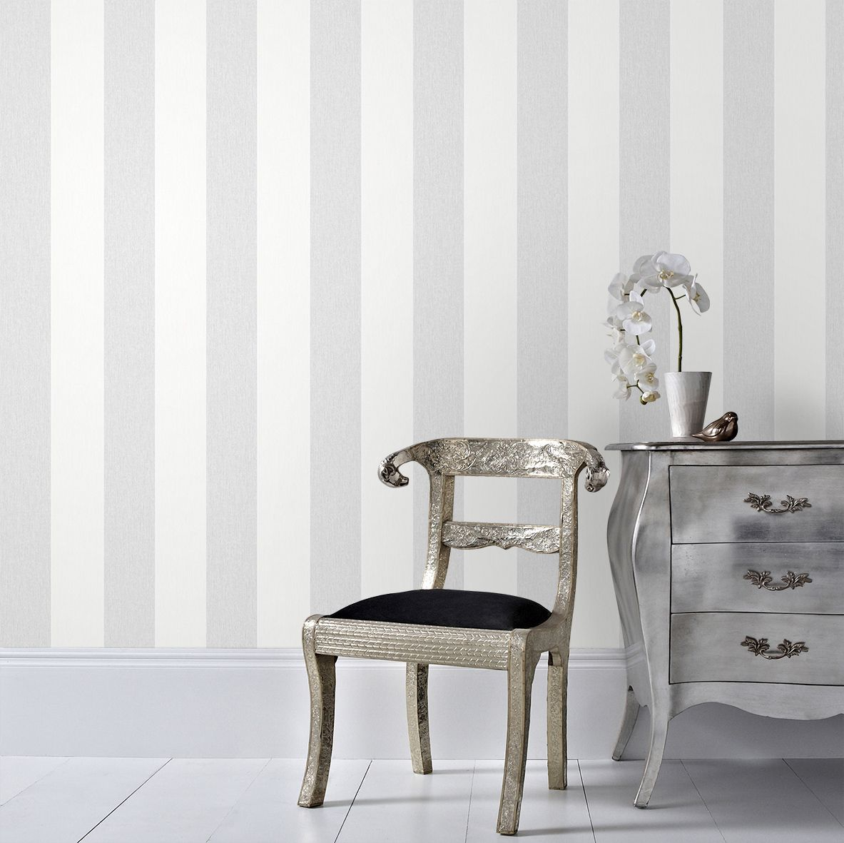 Gray and white striped wallpaper - Gray And White Striped Wallpaper 35
