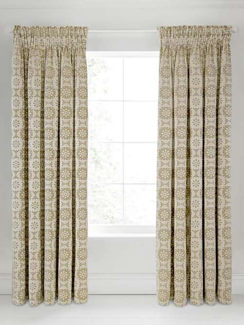 Bedeck 1951 Alie Lined Curtains 66x72 Taupe House Of Fraser