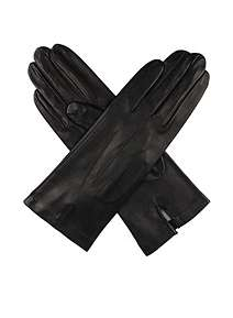 Dents Ladies Leather Glove with Silk Lininng ... 741c3aef119a