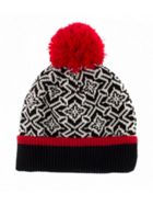 Dents DENTS WOMENS NORDIC KNIT HAT