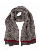 Dents Dents Womens Nordic Knit Scarf