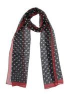 Dents Polka Dot Chiffon Scarf