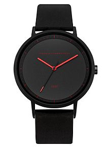 multi coloured men s watches at house of fraser french connection men`s strap watch
