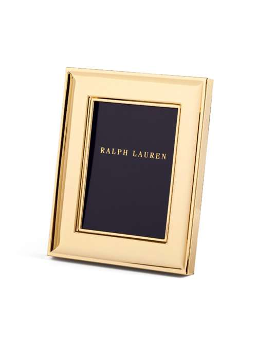 Ralph Lauren Home Cove Photo Frame 8 X 10 Gold Plated House Of Fraser