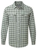 Men's Craghoppers Kiwi Long Sleeved Checked Shirt