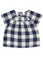 Girls Gingham Top