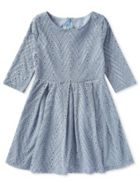 Jigsaw Girls Chevron Dress