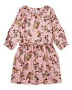 Jigsaw Girls Pressed Flower Print Dress