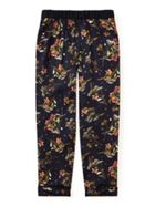 Jigsaw Girls Pressed Flower Woven Trousers