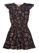 Jigsaw Pressed Flower Floaty Dress