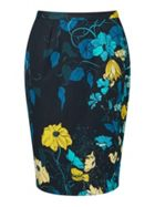 Jigsaw Botanical Trail Pencil Skirt