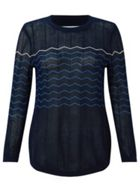 Jigsaw Chevron Stripe Jumper