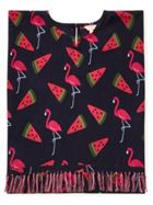 Jigsaw Flamingo Melon Kaftan