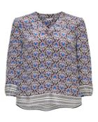 Jigsaw Mayan Tile Blouse
