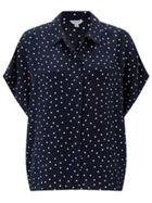 Jigsaw Spot Square Cut Shirt