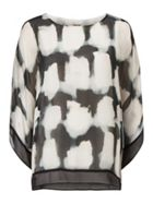 Phase Eight Mildred Print Silk Blouse