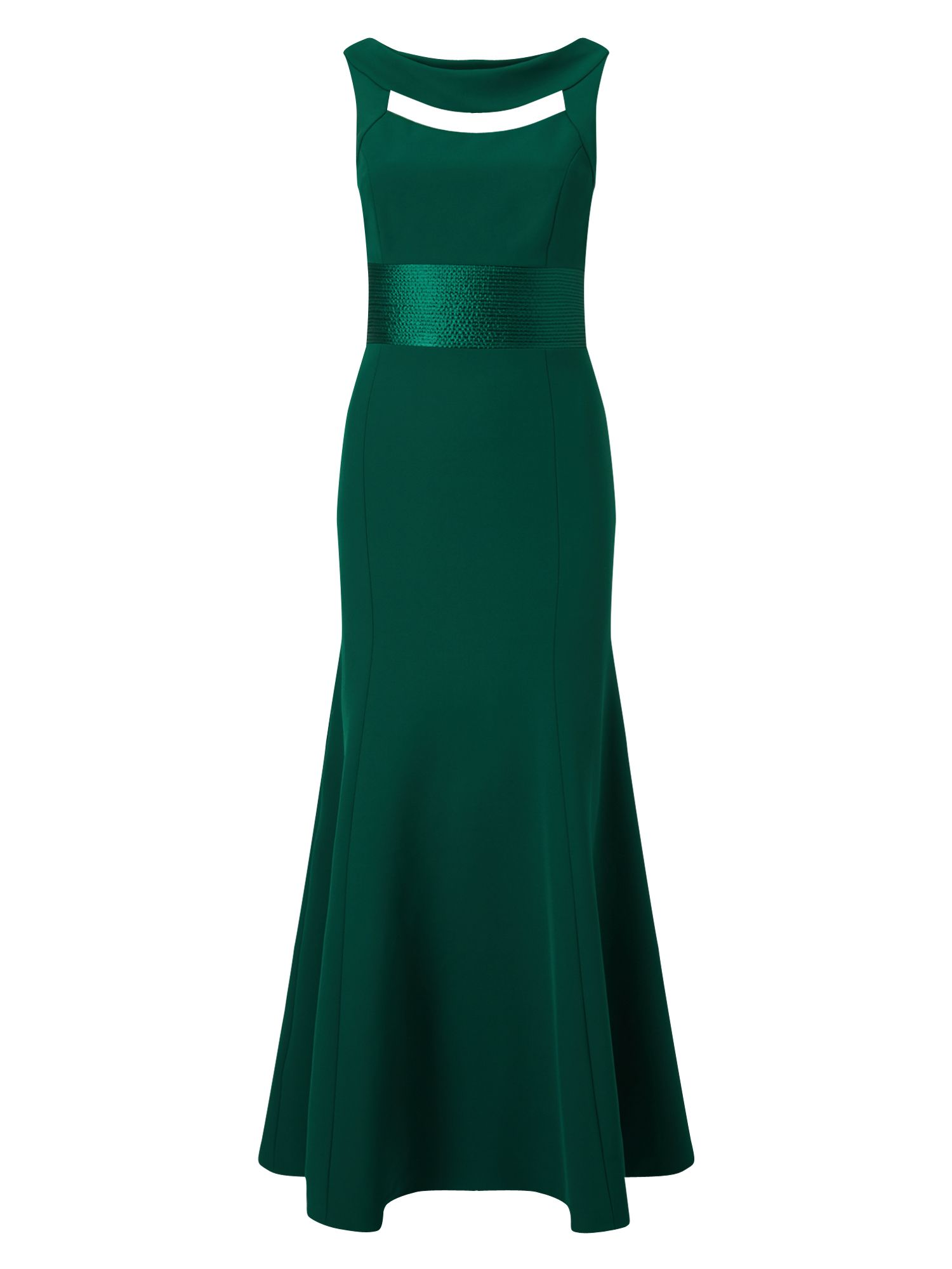 Phase eight green fishtail dress images