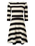 Phase Eight Stripe Ottoman Dress