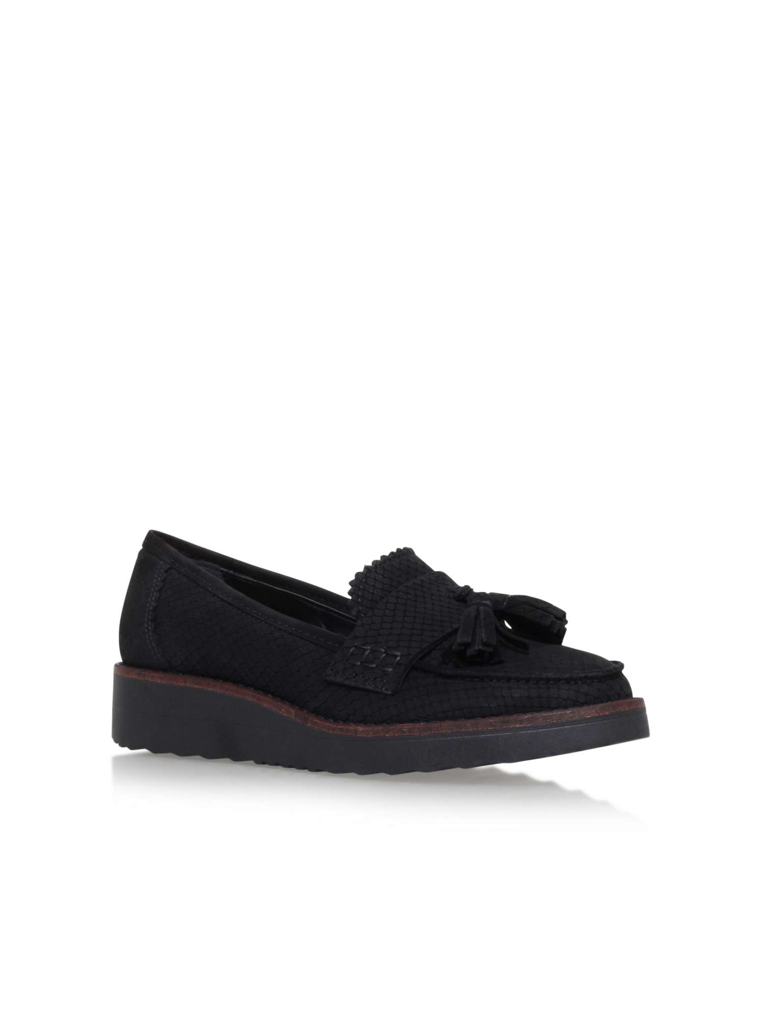 CARVELA Lynora leather loafers Black - N8649