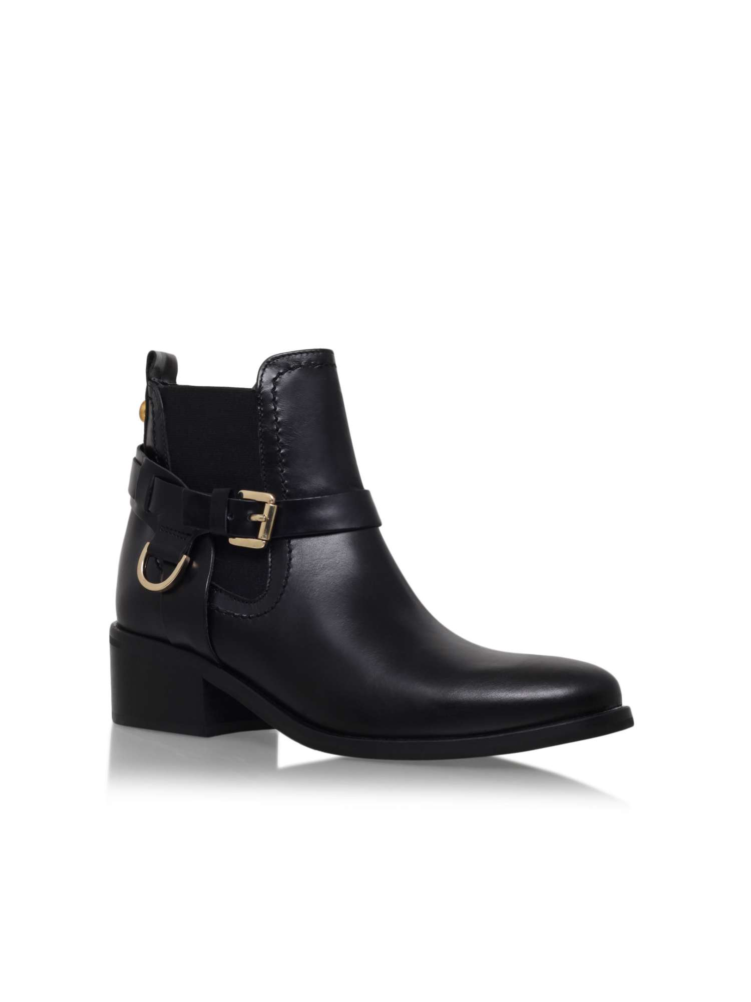 excellent sale online Casual Buckle and Slip-On Design Over The Knee Boots For Women - Black 38 sale order tKOm8g7DGL