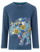 Monsoon Boys Roderick Rhino Long Sleeve Tee