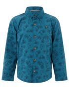 Monsoon Boys Bennie Bike Print Shirt