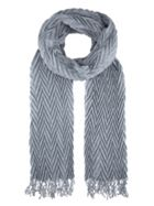 Accessorize Lena Pleated Scarf