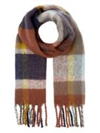 Accessorize Accessorize Greenwich Fluffy Check Scarf