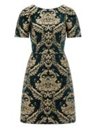 Monsoon Roberta Jacquard Dress