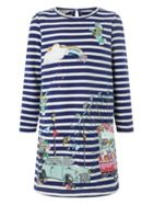 Monsoon Girls Minnie Sweat Dress