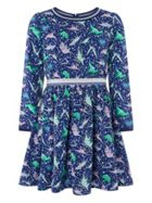 Monsoon Girls Dolly Dinoaur Dress