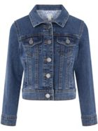 Monsoon Girls Plain Enid Denim Jacket