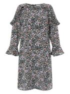 Monsoon Peony Print Tunic Dress