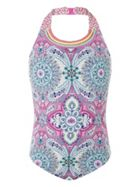 Monsoon Girls Montana Halter Swinsuit