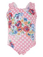 Monsoon Baby Girls Anemone Swimsuit