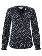 Monsoon Lizzie Scribble Spot Print Shirt
