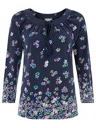 Monsoon Polly Print Top