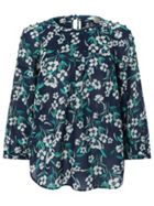 Monsoon Sophie Print Top
