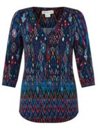 Monsoon Lauren Print Shirt