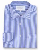 Men's Double TWO Paradigm Stripe 100 Cotton Shirt