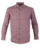 Men's Double TWO Stag Print Casual Long Sleeve