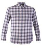 Men's Double TWO Winter Check Casual 100 Cotton