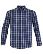 Men's Double TWO Multi Check Casual Shirt