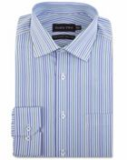 Men's Double TWO Tonal Striped Formal Shirt